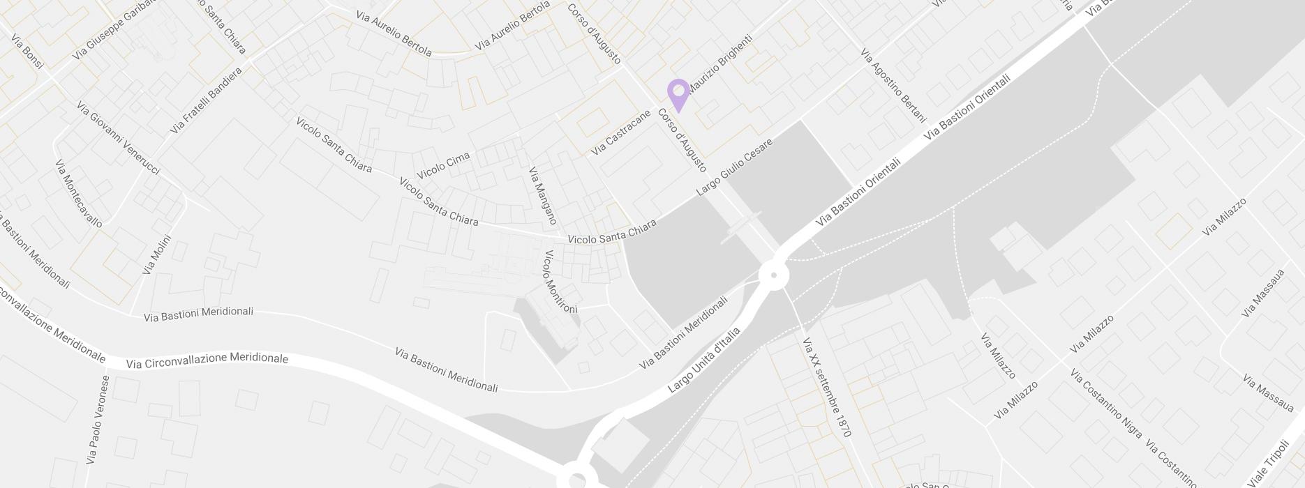 Dove Siamo Mappa Rimini | Il Sogno della Sposa